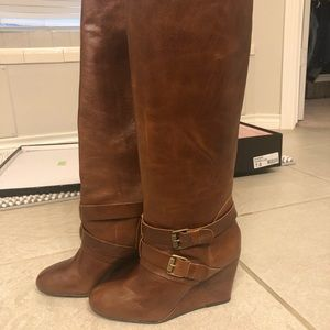 STEVEN by Steve Madden leather boots